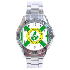 Flag Of Cape Breton Stainless Steel Analogue Watch by abbeyz71