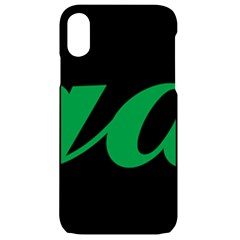 Logo Of Ashgabat Iphone Xr Black Uv Print Case by abbeyz71
