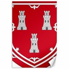 Shield Of The Arms Of Aberdeen Canvas 24  X 36  by abbeyz71