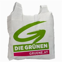 Logo Of Austrian Green Party Recycle Bag (two Side) by abbeyz71