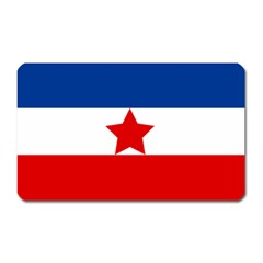Flag Of Yugoslavia, 1941-1946 Magnet (rectangular) by abbeyz71