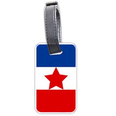 Flag Of Yugoslavia, 1941-1946 Luggage Tag (two Sides) by abbeyz71