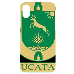 Official Seal Of Yucat¨?n Iphone X/xs Black Uv Print Case by abbeyz71