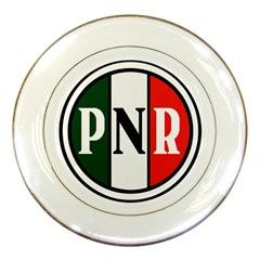 Logo Of National Revolutionary Party, 1929-1938 Porcelain Plates by abbeyz71