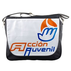 Logo Of Youth Wing Of National Action Party Of Mexico Messenger Bag by abbeyz71