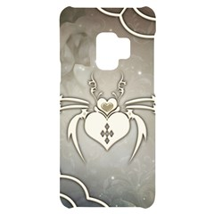 Wonderful Decorative Spider With Hearts Samsung S9 Black Uv Print Case by FantasyWorld7