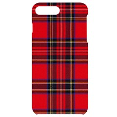 Royal Stewart Tartan Iphone 7/8 Plus Black Uv Print Case