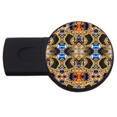 Luxury Abstract Design Usb Flash Drive Round (2 Gb)