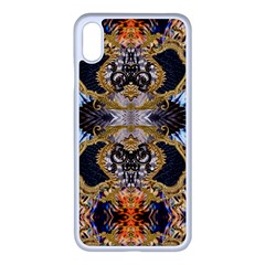 Luxury Abstract Design Iphone Xs Max Seamless Case (white) by tarastyle
