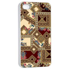 Luxury Abstract Design Iphone 4/4s Seamless Case (white)