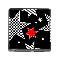 Questioning Anything   Star Design Memory Card Reader (square 5 Slot) by WensdaiAddamns