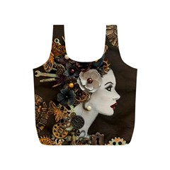 Mechanical Beauty  Full Print Recycle Bag (s) by CKArtCreations