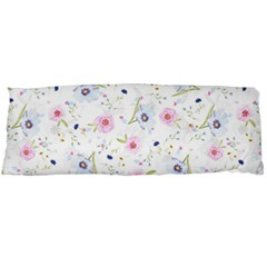 Floral Pattern Background Body Pillow Case (dakimakura) by Pakrebo