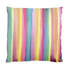 Watercolour Watercolor Background Standard Cushion Case (one Side)