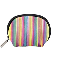 Watercolour Watercolor Background Accessory Pouch (small)