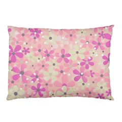 Background Floral Non Seamless Pillow Case (two Sides)