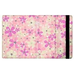 Background Floral Non Seamless Apple Ipad 3/4 Flip Case by Pakrebo