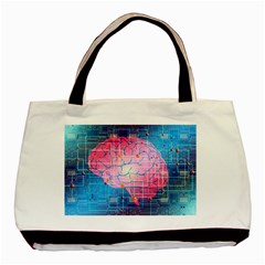 Evolution Artificial Intelligence Basic Tote Bag (two Sides)