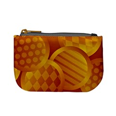 Background Abstract Shapes Circle Mini Coin Purse