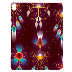 Background Pattern Non Seamless Apple Ipad Pro 12 9   Black Uv Print Case