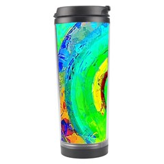 Abstract Color Design Background Travel Tumbler