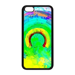 Abstract Color Design Background Iphone 5c Seamless Case (black)
