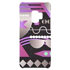 Background Abstract Geometric Samsung S9 Black Uv Print Case