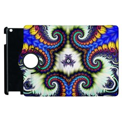Abstract Texture Fractal Figure Apple Ipad 3/4 Flip 360 Case