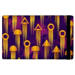 Background Pattern Non Seamless Apple Ipad 3/4 Flip Case by Pakrebo