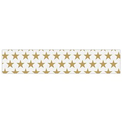 Gold Star Small Flano Scarf by WensdaiAmbrose