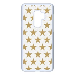 Gold Star Samsung Galaxy S9 Plus Seamless Case(white) by WensdaiAddamns
