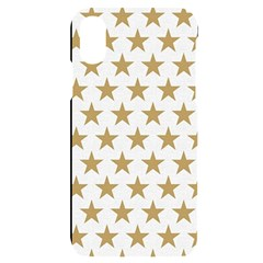 Gold Star Iphone X/xs Black Uv Print Case by WensdaiAmbrose