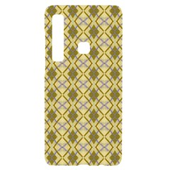 Argyle Large Yellow Pattern Samsung Case Others by BrightVibesDesign