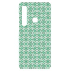 Argyle Light Green Pattern Samsung Case Others by BrightVibesDesign