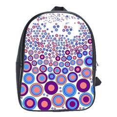 Zappwaits Circle School Bag (large) by zappwaits