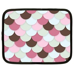Fishy In Pink Netbook Case (large) by TimelessFashion