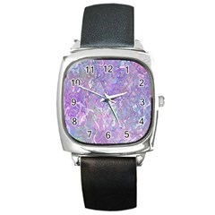 Pink Fusion Square Metal Watch by TimelessFashion
