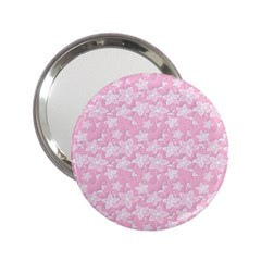 Romantic Little Flowers In Pink 2 25  Handbag Mirrors by TimelessFashion