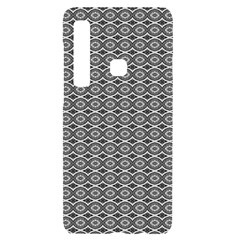 Ornate Oval Pattern Grey Black White Samsung Case Others by BrightVibesDesign