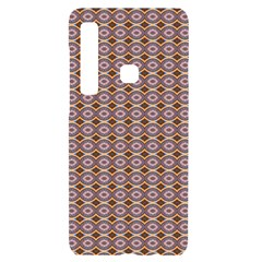 Ornate Oval  Pattern Yellow Blue Samsung Case Others by BrightVibesDesign
