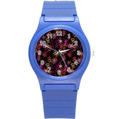 Disco Of Stars Round Plastic Sport Watch (s) by TimelessFashion