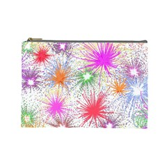 Fireworks Cosmetic Bag (large) by TimelessFashion