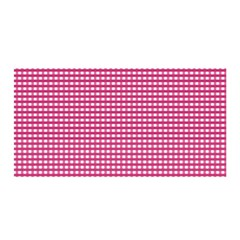 Grid In Pink Satin Wrap by TimelessFashion