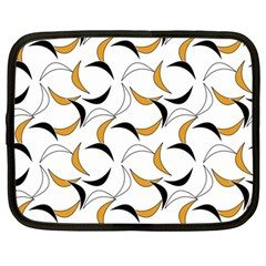 Simply Retro Orange Netbook Case (large)