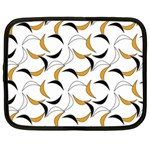 Simply Retro Orange Netbook Case (Large) Front
