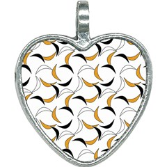 Simply Retro Orange Heart Necklace by TimelessFashion