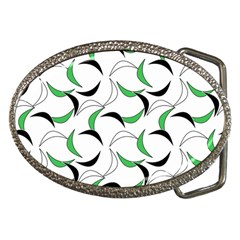 Simply Retro Green Belt Buckles by TimelessFashion