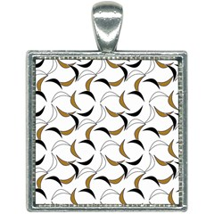 Simply Retro Brown Square Necklace by TimelessFashion