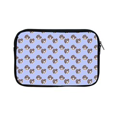 Kawaii Dougnut Blue Pattern Apple Ipad Mini Zipper Cases