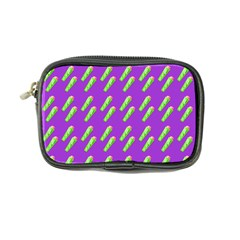 Ice Freeze Purple Pattern Coin Purse by snowwhitegirl